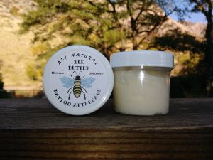 Bee Butter heals your skin. Plastic Jar