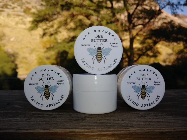 New Tattoo? Buy a jar of Tattoo aftercare Bee Butter