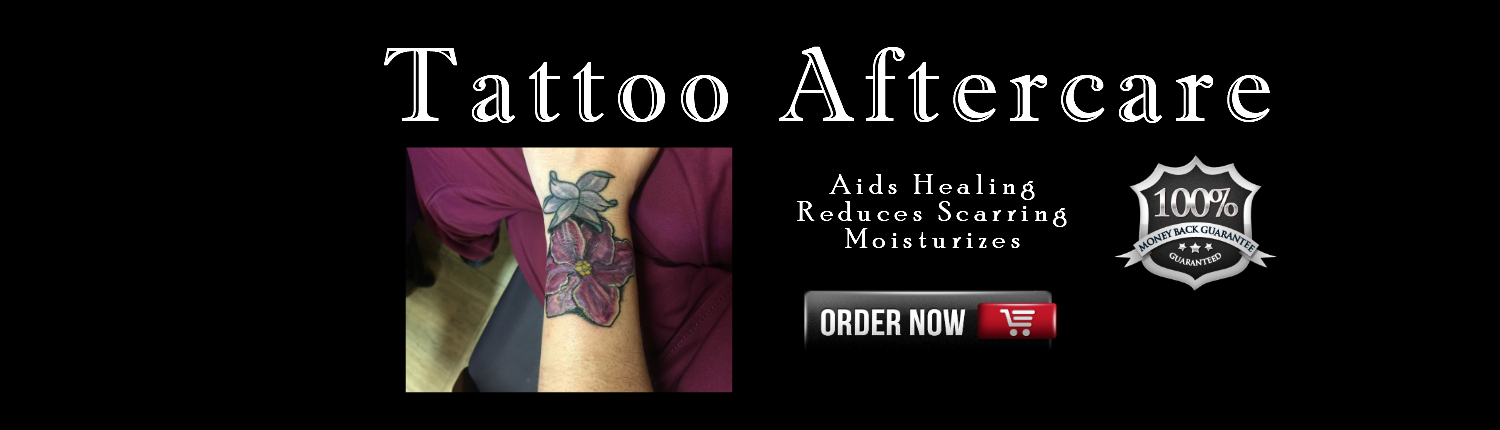 Use Bee Butter after a Tattoo moisturizes and heals