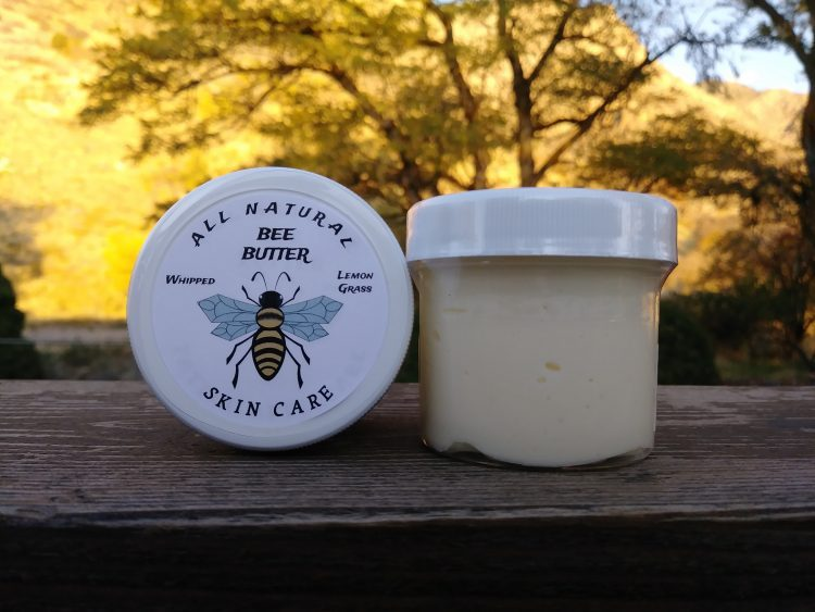 Dry skin relief with Bee Butter in Jar